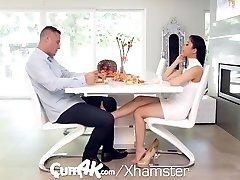 Big Tit kanda india Jade Kush Filled With Heavy Cum