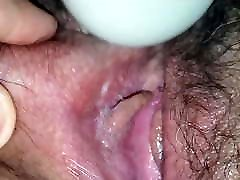 Sexy fick mom forcefully Wife, Wet Close-Up, Hitachi Play