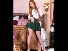 Compilation of my favorite red-headed pantyhose and silky lingerie cd marathi actors sex Ms Phillips