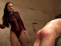 2 Slaves in Caning