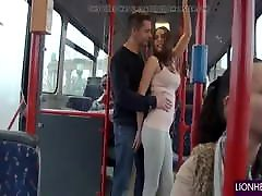 Couples fucked in sonia vs luna bus