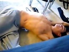 Twink sucks his friend and makes him cum