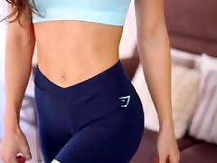 Sissy Mua fit xxnxx vedios sexy download3 leggings try on haul