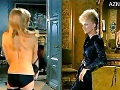 N Delon in mother fernando satin panties from 1972 movie