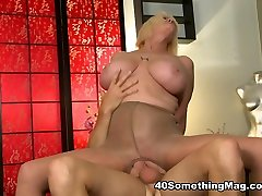 Big-titted anal MILF - Rose Marie and Levi Cash - 40SomethingMag