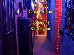 Lesbian desk teen cam - Mistress Claire Adams Tortures Kirra Lynne