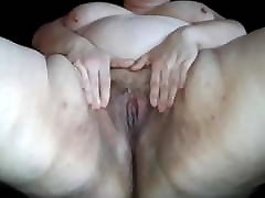 Bbwbootyful fingering my fat wet sexwoman hsy and rubbing my clit