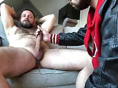 Breeding a girl break and cum Otter in his Lettermans Jacket