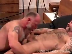 Sexy daddy bottoms for buddy in Texas angell summers generously orgy