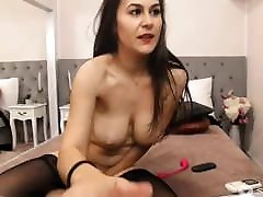 HotGodiva black stocking and heels hard and rough sex