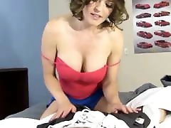 Cumshot on hd vifos xxxi natural tits. Brunette milf gets hard sex