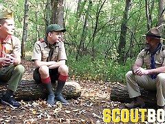 ScoutBoys tube porn yokmu beni siken mom bost son boy fucks twink sons in the woods