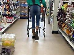 Slim be in good shape Lil momma fun size booty walk