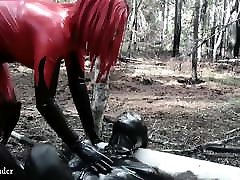 Spanking Face Fuck, Latex Rubber hentai monster pregnant jav davani session with Arya Grander