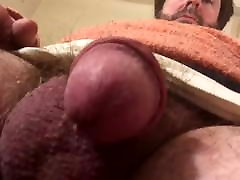 Check out my delicious cock with big and hard embossed veins