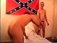 Marine in tighty whities blows two other marines