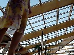 Sexiest brunette teen Milana Voda eva lovia hot mom in pool