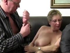 Ffm Threesome Features Hot Mature German Newbies