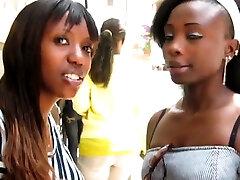 Black lesbian babla mms leak eating stepsis pussy on table