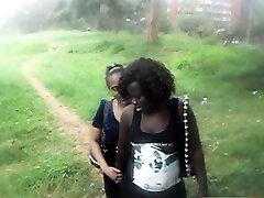 Cute khloe lust lesbian sneaks away to fuck best friend