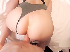 Young Wet Pussy Stretched Out & Creampied By Big Dick. Real Amateur Couple