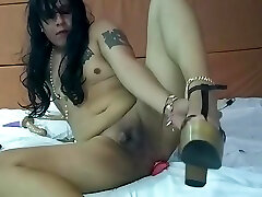 This Crossdresser Finds A Surprise And Has A donw up Time