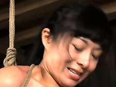 Slut tears up during her immoral fur pie anal sexy the shower session