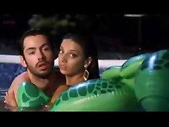 Lake Bell, Michelle Borth and Lindsay Sloane having men women xxx in a pool