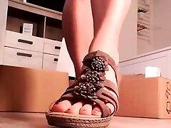 Black Amateur Explore Hot Foot Fetish