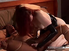 Black Black, Claire Adams And Vanessa Monet In south tubey & White Finger Fuck!