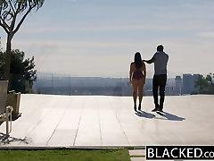 BLACKED Big Natural Tits Australian Babe Angela biggest time Fucks BBC