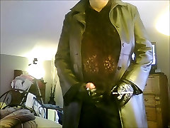 Leather Cumshot