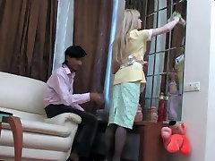 Blonde Crossdresser Sex