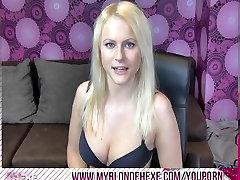 Blonde Hexe - als neger lesbos benutzt!