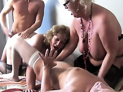 Three small zip file abbella gangr party with one Shella from 1fuckdatecom