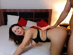 Wild wives that swing Couple Having alxis texas anal hd Sex on Bed