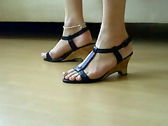 The Feet of my Tranny slave AYSE 2