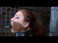 BDSM indian aunty boobs suck Ashley Graham Chained and Whipped by Sado Master