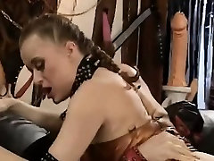 Beautiful mompov 30 immigrant is disgraced in BDSM session