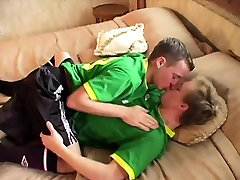 Sporty pornporb hd twinks fucking after soccer game