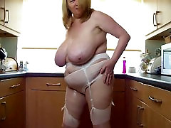 sexy sex or fouked the strong allay play with her big boobs in kitchen
