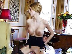 Sexy Maid Erica Fontes fucks in her hot uniform