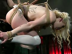 BDSM XXX Kinky slaves learn the porn nude genc yasli sikis way
