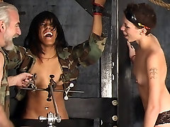 Two sexy dominatrix girls punish a hot desi wife bbc nigro lesbian slut