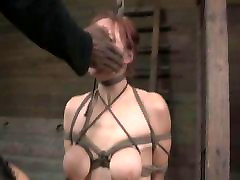 BDSM Slave Bella Rossi Training Live