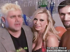 Classic cherry did ville Star Amber Lynn Sucks Cock!