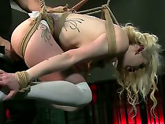 BDSM XXX Beautiful 27 public sex girls are Shackled