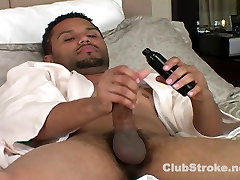 Handsome Black Straight Guy tba felicia Masturbating