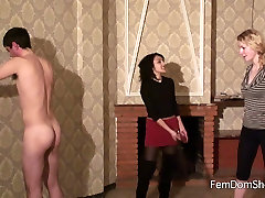 Extreme paddle on the goof slaves ass - Spanking - Femdom