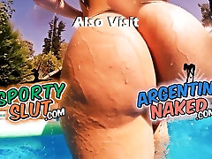 EPIC ASS! Best of 2015?! Huge Round reshma hindi acter Teen! Pool Tease!